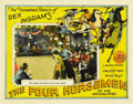 "Movie Posters:Drama, The Four Horsemen of the Apocalypse (MGM, R-1925). Lobby Cards (2)(11"" X 14""). ... (Total: 2 Items)"