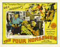 """Movie Posters:Drama, The Four Horsemen of the Apocalypse (MGM, R-1925). Lobby Cards (2)(11"""" X 14""""). ... (Total: 2 Items)"""