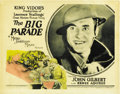 "Movie Posters:War, The Big Parade (MGM, 1925). Title Lobby Card and Lobby Card (11"" X14""). ... (Total: 2 Items)"
