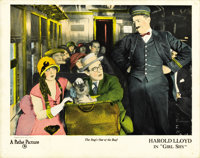 "Girl Shy (Pathe Exchange Inc., 1924). Lobby Cards (2) (11"" X 14""). ... (Total: 2 Items)"