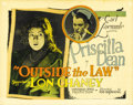 "Movie Posters:Crime, Outside the Law (Universal, 1920). Title Lobby Card (11"" X 14"")...."