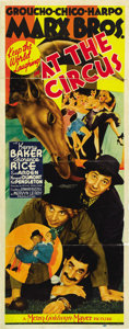 """Movie Posters:Comedy, At the Circus (MGM, 1939). Insert (14"""" X 36""""). ..."""