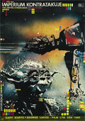 "Movie Posters:Science Fiction, The Empire Strikes Back (20th Century Fox, 1980). Polish One Sheet(18.5"" X 26.5""). ..."