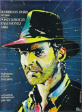 "Movie Posters:Adventure, Raiders of the Lost Ark (Paramount, 1983). Polish Poster (18.75"" X25.5""). ..."