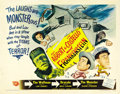 "Movie Posters:Horror, Abbott and Costello Meet Frankenstein (Universal, 1948). Half Sheet(22"" X 28"") Style B. ..."
