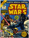 Bronze Age (1970-1979):Science Fiction, Marvel Special Edition #2 Star Wars (Marvel, 1977) Condition: NM-....