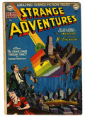 Golden Age (1938-1955):Science Fiction, Strange Adventures #4 (DC, 1951) Condition: GD/VG....