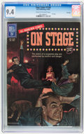 Silver Age (1956-1969):Adventure, Four Color #1336 On Stage - File Copy (Dell, 1962) CGC NM 9.4 Cream to off-white pages....
