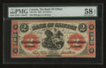 Canadian Currency: , Clifton, PC- The Bank of Clifton $2 Sept. 1, 1861 Ch # 125-12-10....