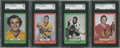 Hockey Cards:Lots, 1973 O-Pee-Chee Hockey SGC 96 Mint 9 Lot of 4.... (Total: 4 cards)