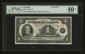 Canadian Currency: , BC-2 $1 1935 French.. ...