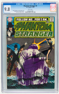 The Phantom Stranger #5 (DC, 1970) CGC NM/MT 9.8 White pages
