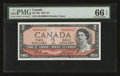 Canadian Currency: , BC-38a $2 1954 Serial Number 15.. ...