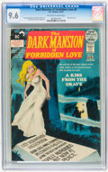 Bronze Age (1970-1979):Horror, Dark Mansion of Forbidden Love #4 (DC, 1972) CGC NM+ 9.6 Off-whiteto white pages....