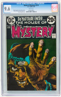 Bronze Age (1970-1979):Horror, House of Mystery #214 (DC, 1973) CGC NM+ 9.6 White pages....