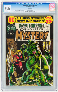 House of Mystery #204 (DC, 1972) CGC NM+ 9.6 White pages