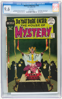 House of Mystery #202 (DC, 1972) CGC NM+ 9.6 White pages