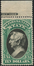 Stamps, $10 State (O70),...