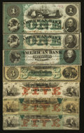 Obsoletes By State:Maryland, Baltimore, MD- American Bank Notes. Seven Examples.. ... (Total: 7 notes)