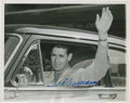 Autographs:Photos, 1952 Ted Williams Signed Original Wire Photograph....