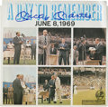 """Autographs:Others, Mickey Mantle Signed """"A Day to Remember"""" Record...."""