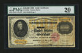 Large Size:Gold Certificates, Fr. 1225c $10000 1900 Gold Certificate PMG Very Fine 20 PerforationCancelled....