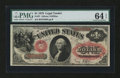 Large Size:Legal Tender Notes, Fr. 27 $1 1878 Legal Tender PMG Choice Uncirculated 64 EPQ....