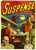 Golden Age (1938-1955):Horror, Suspense Comics #1 (Continental Magazines, 1943) Condition: GD....
