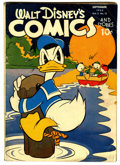 Golden Age (1938-1955):Cartoon Character, Walt Disney's Comics and Stories #36 (Dell, 1943) Condition: GD....