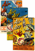 Golden Age (1938-1955):Superhero, Air Ace Group (Street & Smith, 1944-46).... (Total: 3 )