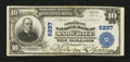 National Bank Notes:Maryland, Snow Hill, MD - $10 1902 Plain Back Fr. 624 The Commercial NB Ch. #6297. ...