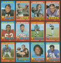 Football Cards:Sets, 1971 Topps Football High Grade 1st Series Complete Set (132). ...