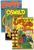 Golden Age (1938-1955):Funny Animal, Comics - Assorted Golden Age Funny Animal Comics Group (Various,1944-45).... (Total: 5 )