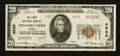 National Bank Notes:Virginia, Newport News, VA - $20 1929 Ty. 2 The First NB Ch. # 4635. ...