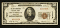 National Bank Notes:Pennsylvania, New Cumberland, PA - $20 1929 Ty. 1 The New Cumberland NB Ch. #7349. ...
