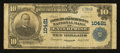National Bank Notes:Alabama, Enterprise, AL - $10 1902 Plain Back Fr. 630 The Farmers & Merchants NB Ch. # 10421. ...