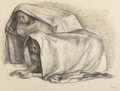 Works on Paper, FRANCISCO ZÚÑIGA (Mexican, b. 1912). Crouching Women, 1967. Charcoal on paper. 19 x 25 inches (48.3 x 63.5 cm). Initiale...