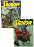 Pulps:Detective, Shadow Pulp Group (Street & Smith, 1939-40) Condition: AverageVG/FN.... (Total: 2 Items)