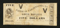 Obsoletes By State:Louisiana, Natchitoches, LA- Parish of Natchitoches $5 Dec. 20, 1862 . ...
