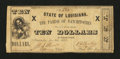 Obsoletes By State:Louisiana, Natchitoches, LA- Parish of Natchitoches $10 Jan. 6, 1863. ...