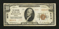 National Bank Notes:Virginia, Buchanan, VA - $10 1929 Ty. 2 The Buchanan NB Ch. # 9375. ...