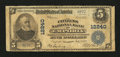 National Bank Notes:Virginia, Emporia, VA - $5 1902 Plain Back Fr. 609 The Citizens NB Ch. #12240. ...