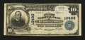 National Bank Notes:Pennsylvania, Russellton, PA - $10 1902 Plain Back Fr. 631 The First NB Ch. #10493. ...