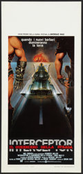 """Movie Posters:Science Fiction, Mad Max 2: The Road Warrior (Warner Brothers, 1982). ItalianLocandina (13"""" X 27.5""""). Science Fiction.. ..."""