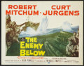 "Movie Posters:War, The Enemy Below (20th Century Fox, 1957). Lobby Card Set of 8 (11""X 14""). War.. ... (Total: 8 Items)"