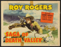 """Movie Posters:Western, Saga of Death Valley (Republic, R-1949). Lobby Card Set of 8 (11"""" X14""""). Western.. ... (Total: 8 Items)"""