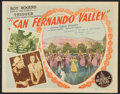 "Movie Posters:Western, San Fernando Valley (Republic, 1944). Lobby Card Set of 8 (11"" X 14""). Western.. ... (Total: 8 Items)"