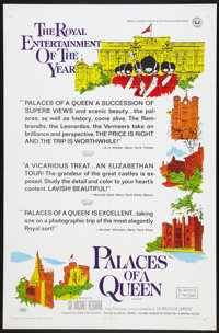"""Palaces of a Queen (Universal, 1967). One Sheet (27"""" X 41""""). Documentary"""