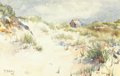 Works on Paper, HENRY FRANÇOIS FARNY (American, 1847-1916). Wyoming Territory. Watercolor on paper. 10-1/2 x 14 inches (26.7 x 35.6 cm)...