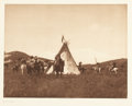 Western:20th Century, EDWARD SHERIFF CURTIS (American, 1868-1952). Numerous Volumes and Plates of The North American Indian, 1907-1930. Photog... (Total: 20 Items)